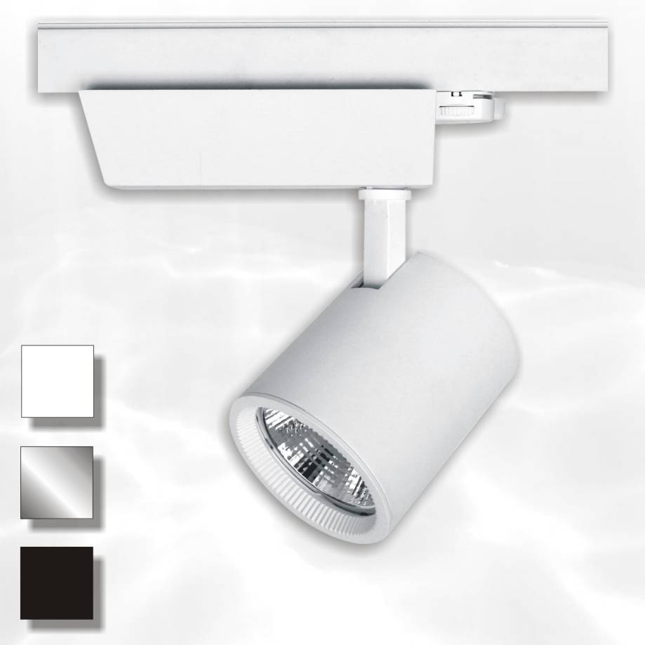 The Tyr 3-fase LED railspot