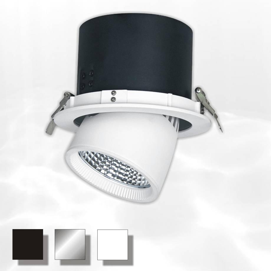 The Nimrod richtbare inbouw LED-Spot