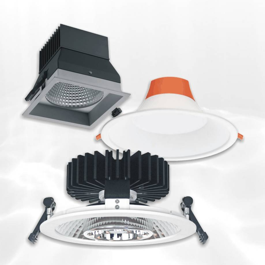 Downlight LED-armaturen
